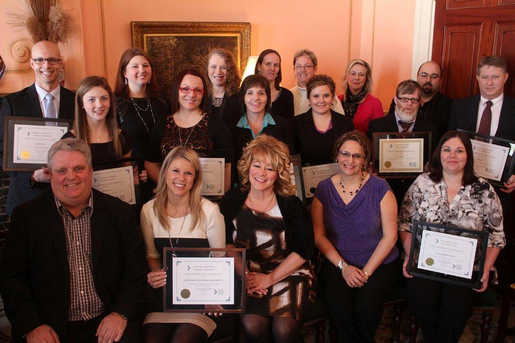 Les lauréats et lauréates du Nouveau-Brunswick des prix nationaux de l'inclusion scolaire 2014